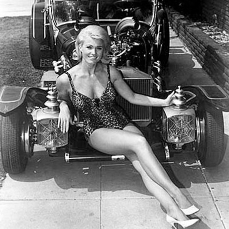 "Marilyn from ""The Munsters"" back in the day."