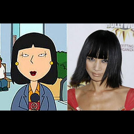 Sexy Cartoon Look Alike