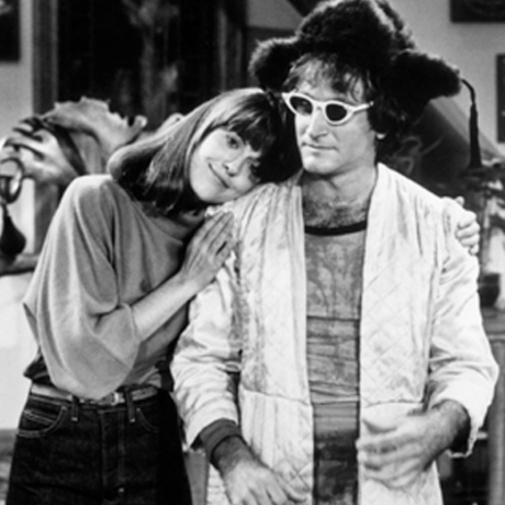 """Pam Dawber is best known for her role Mindy, opposite Robin Williams, in the TV hit """"Mork and Mindy."""""""