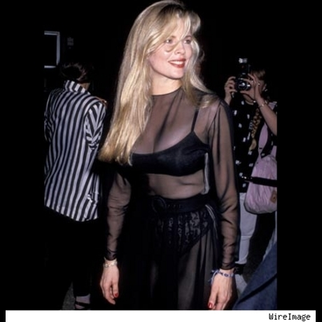 "Kim Basinger at the Los Angeles premiere of ""Batman.""  June 19, 1989."