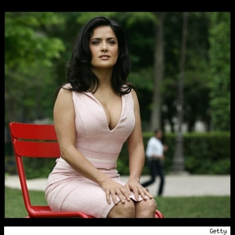 "Salma Hayek poses for ""Ask the Dust"" photo call"
