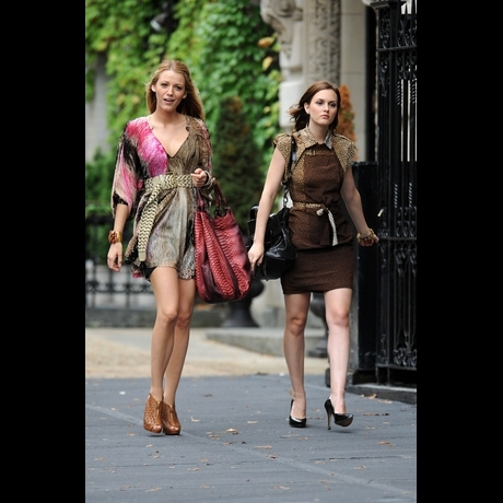 Blake and Leighton are Lookin' Good On Set