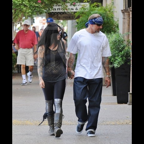 Kat Von D and Jesse James -- Zoom View!
