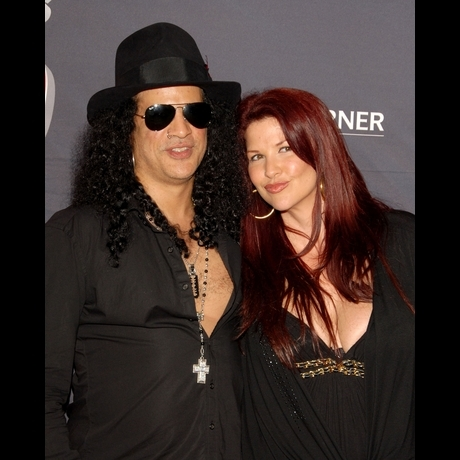 Slash and Mrs. Slash -- The Cute Couple