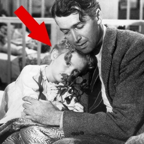 """Karolyn Grimes is famous for playing Jimmy Stewart's youngest daughter ZuZu Bailey in the 1946 Frank Capra classic """"It's a Wonderful Life."""""""