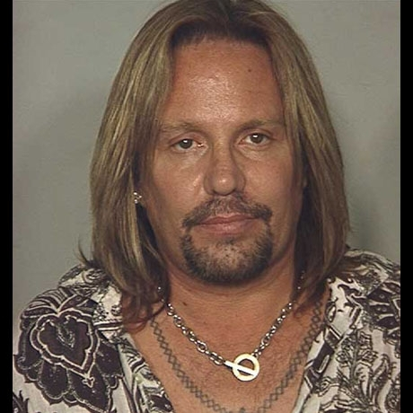 Vince Neil was arrested under suspicion of DUI in June of 2010.