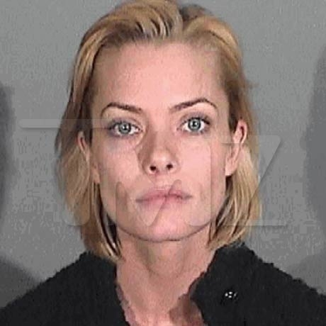 Jaime Pressly - busted for DUI in 2011.