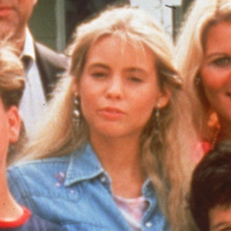 "Olivia d'Abo is best known for playing Fred Savage's older sister, Karen Arnold, on the '80s series ""The Wonder Years."""