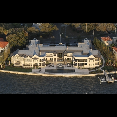 Derek Jeter's Cool New Crib -- Zoom View!