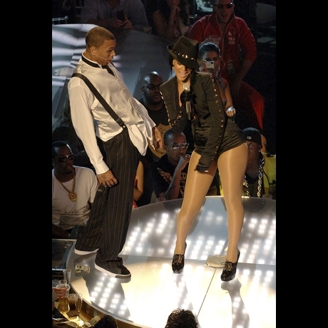 Chris Brown and Rihanna Photos