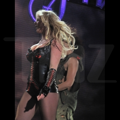 Britney Spears -- Live in Concert in Las Vegas