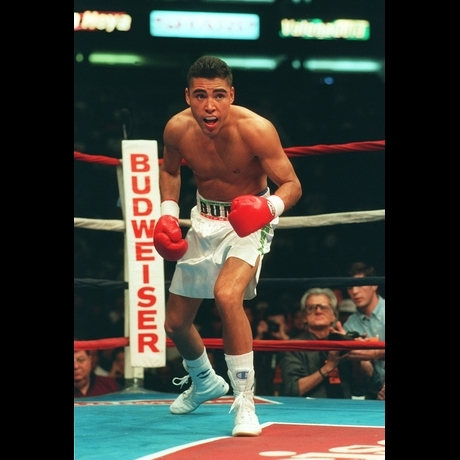 Oscar de la Hoya's Fight Photos