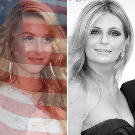 Whitney Port was born in the USA! Mischa Barton was born in England.