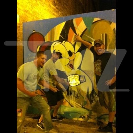 CM Punk's Party Pictures