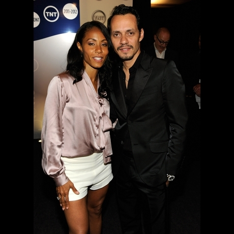 Jada Pinkett Smith and Marc Anthony