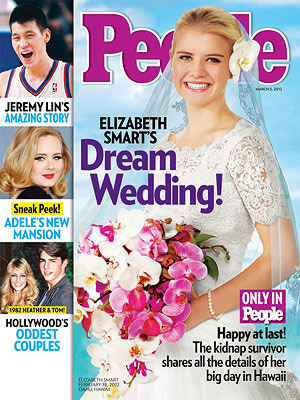See Elizabeth Smart's Wedding Dress!