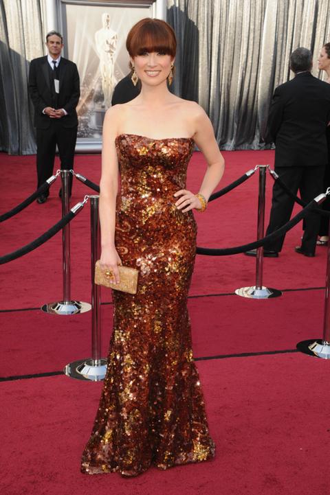 Academy Awards 2012 Red Carpet Fashion Photos