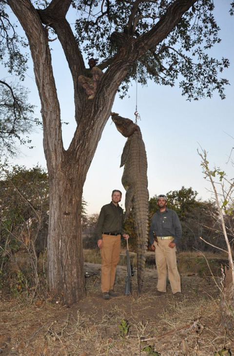 Donald Eric Trump Hunting Zimbabwe Photos