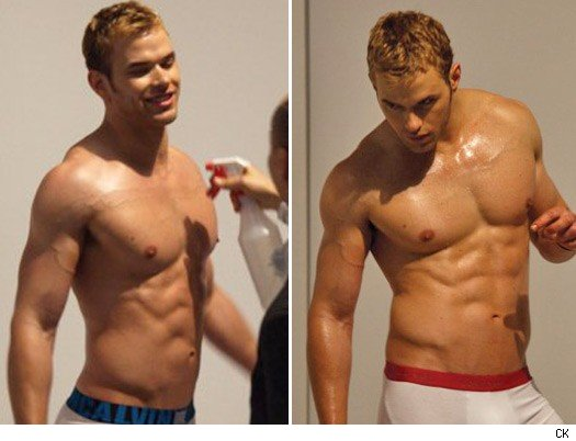 Kellan lutz calvin klein are