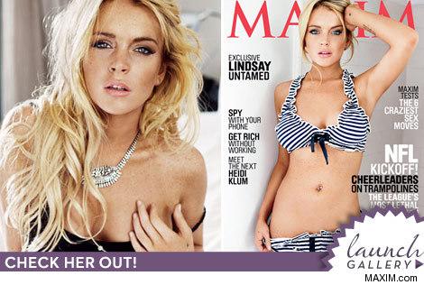 Lindsay Lohan Maxim Magazine