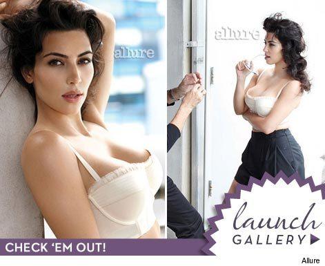 Kim Kardashian Allure Photoshoot