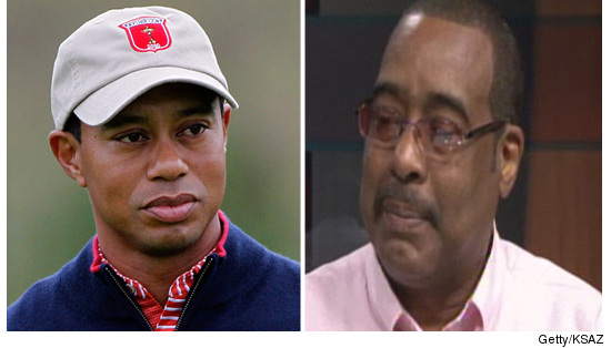 Tiger woods half brothers