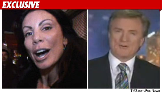 Former husband and wife: Kevin Maher and Danielle Staub