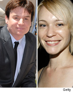 NEWS: Mike Myers' Secret Wedding! | toofab.com Kelly Tisdale Moby
