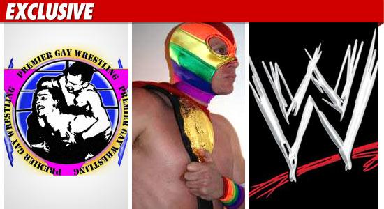 gay wrestling league