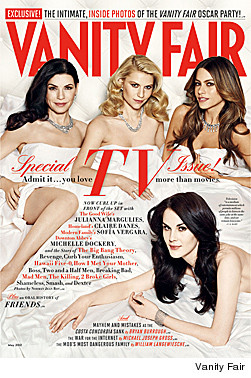 Emily Deschanel Archie Punjabi Grace Park Kerry Washington Emmy Rossum Emily VanCamp Kat Dennings Vanity Fair