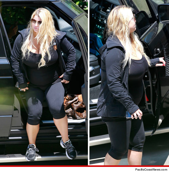 Jessica Simpson Keeps The Weight Off: Jessica Simpson -- I Have Not Reached My Goal Weight Yet