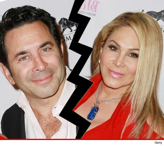 'Real Housewives' Star Adrienne Maloof -- Husband Filing