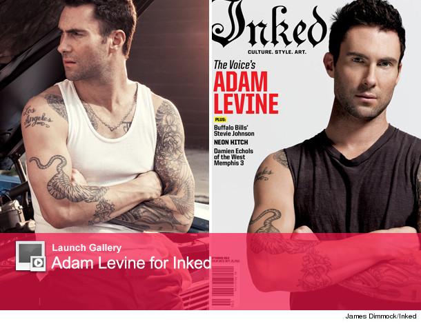 Adam Levine Slams Critics, Talks Tattoos in Inked Magazine!   toofab.com
