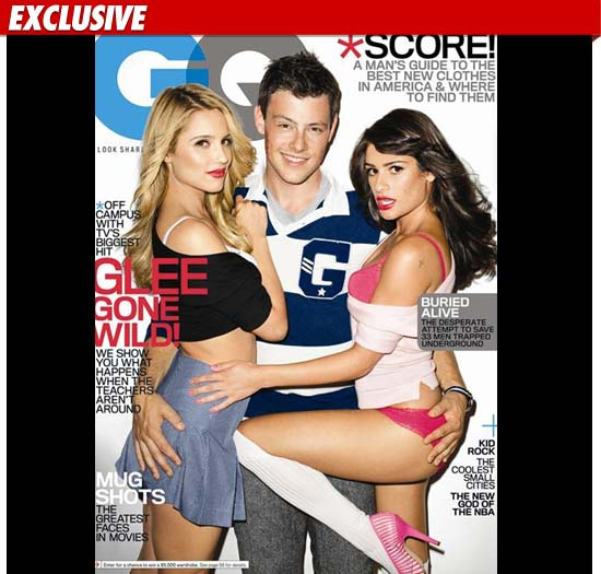 Glee GQ Photos Draw Fire -- 'Borders On Pedophilia'