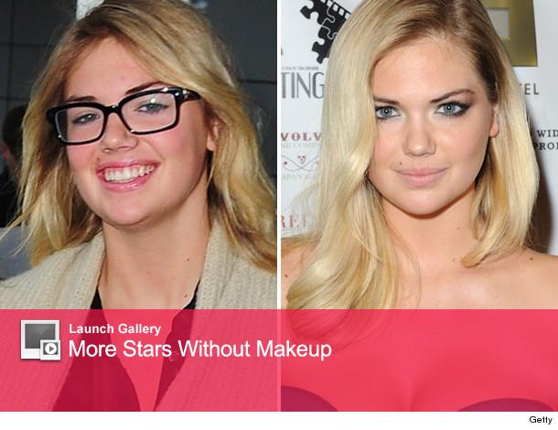 Kate upton no makeup