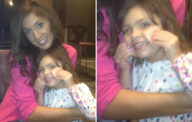 Farrah Abraham Defends Plucking 3 Year Old S Eyebrows