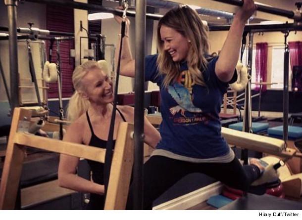 db5b8147cff Secrets Revealed  How Hilary Duff s Gotten Her Pre-Baby Bod Back ...