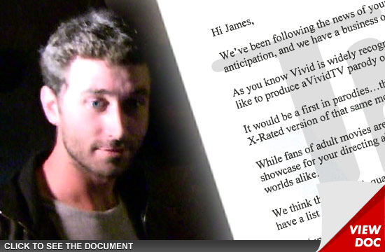 Porn star james deen offered lead role in version of the canyons