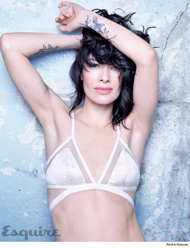 Game Of Thrones Star Lena Headey Shows Off Her Tattoos