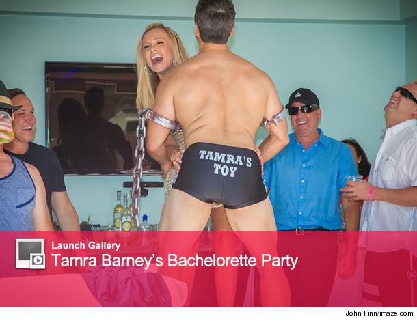 Bachelorette party spanking