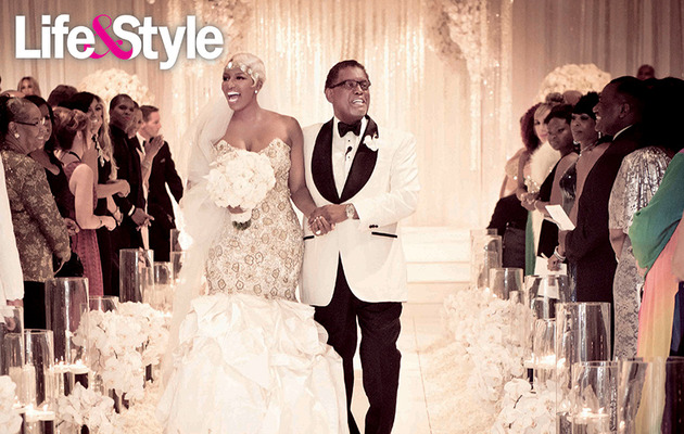 First Photo See Real Housewives Star Nene Leakes Wedding Dress