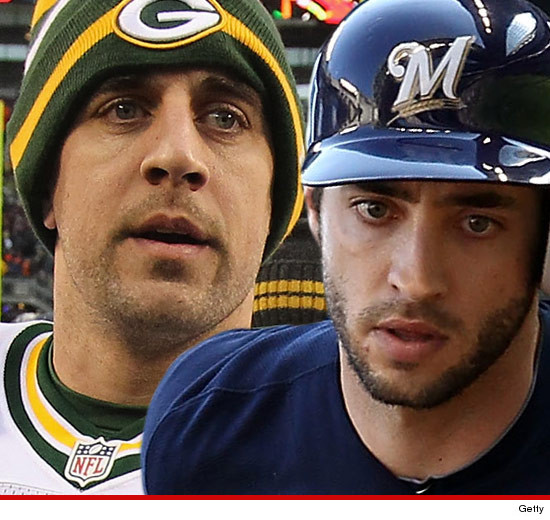 are ryan braun and aaron rodgers dating
