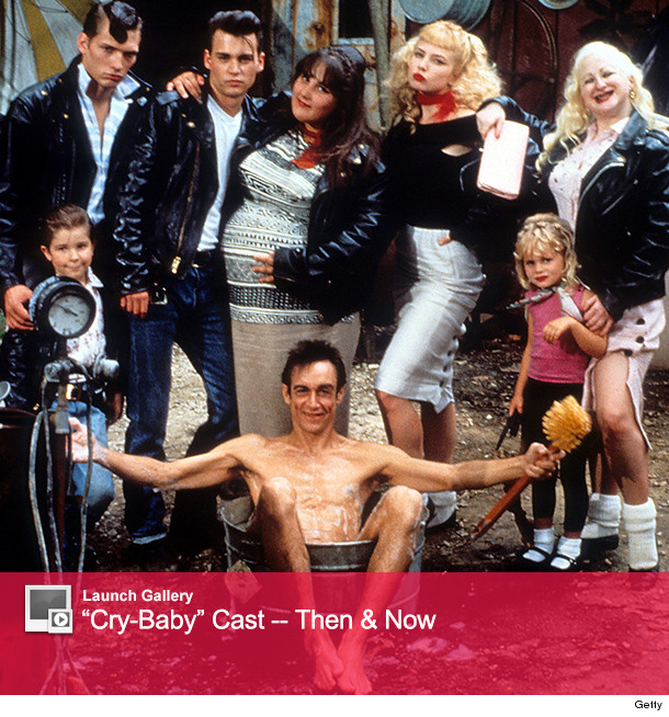 "Johnny Depp Reunites With ""Cry-Baby"" Cast"