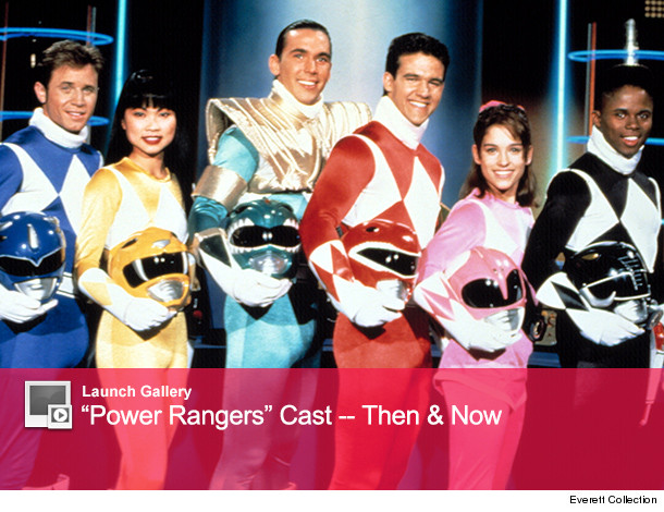 Excellent Original power rangers then and now