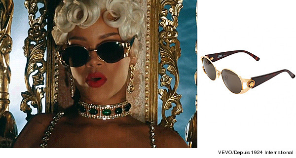 0a4c08c80a Rihanna Pours On The Jewels In New Music Video!