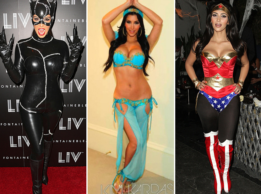Kim Kardashians Sexiest Halloween Costumes  Toofabcom-4808