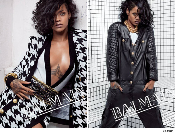 Rihanna Is The New Face of Balmain, The Rococo Was This
