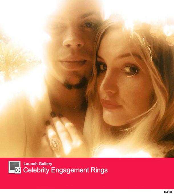 f78af32020ea2 Ashlee Simpson's Engagement Rings -- Evan Ross vs. Pete Wentz ...