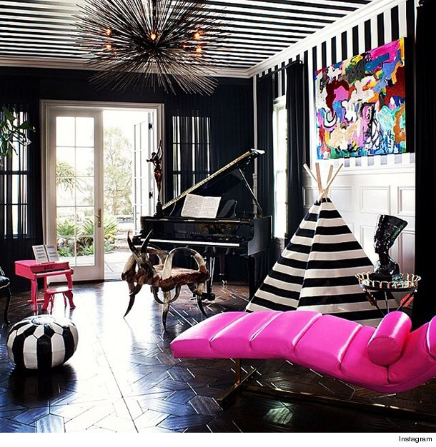 Take A Peek Inside Kourtney Kardashian's Home