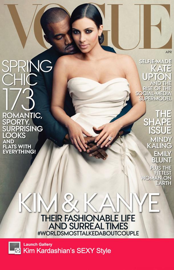 Kim Kardashian Vogue Cover Sales